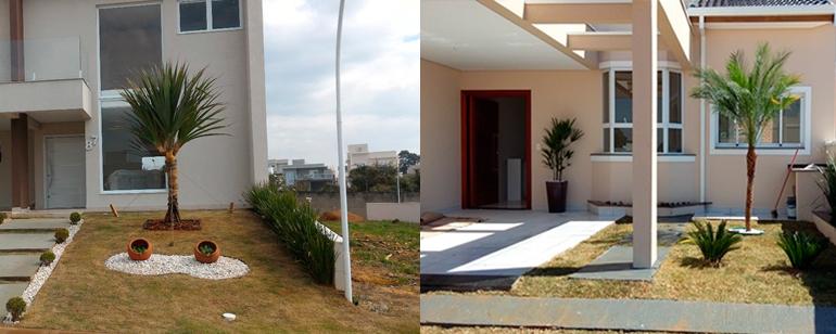 Manutenção de jardins e áreas verdes em chácaras e residências